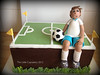Soccer Cake (Klaire with a Cake) Tags: cake mckay soccer lorraine tlc soccercake thelittlecupcakery klairescupcakes