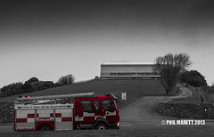Jersey Fire & Rescue selective colour (Jersey War Tours) Tags: rescue fire jersey jerseyfirerescue