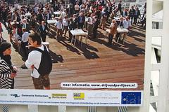 Rotterdam's Floating Pavilion (Inhabitat) Tags: architecture rotterdam thenetherlands bubbles urbandesign globalwarming dutchdesign floatinghouses daylighting rijnhaven energyefficiency halfspheres floatingpavilion waterissues floatingarchitecture rotterdamclimateproof analisaalperovich