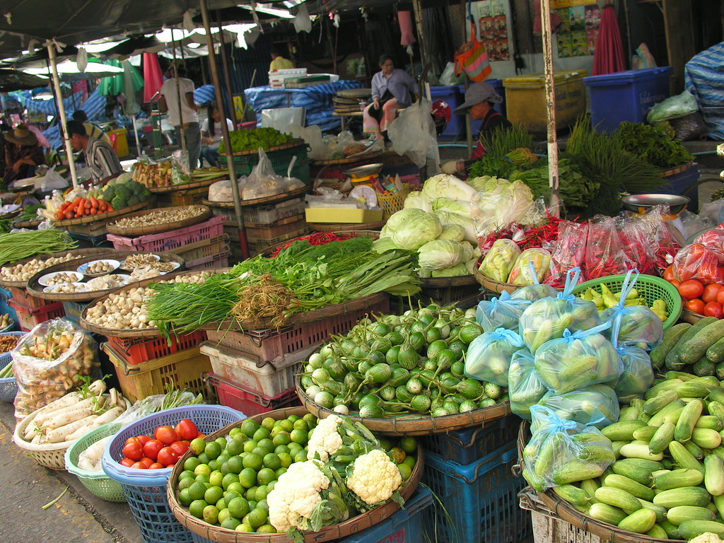 Central market, Surin, Northeast Thailand