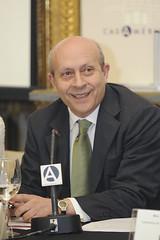 José Ignacio Wert, ministro de Educación del G...