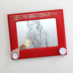 E is for Etch A Sketch (YetAnotherLisa) Tags: