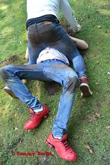 jeansbutt10616 (Tommy Berlin) Tags: men jeans butt ass ars levis fight