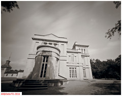 The East parlor, Dundurn castle (DelioTO) Tags: 4x5 adox100 architecture august autaut blackwhite canada city d23 f250 lake ontario pinhole summer woods
