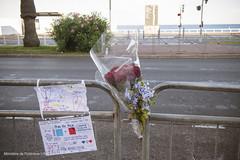 Reportage  Nice suite aux attentats du 14 juillet 2016 (Ministere de l'Intrieur) Tags: nice provencealpesctedazur france policenationale promenade scurit attentat sapeurspompiers hommage