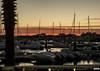 Harbourside Twilight (andrewtijou) Tags: andrewtijou nikond7200 europe spain puntadelmoral costadelaluz port sunset harbour water boats palmtrees es