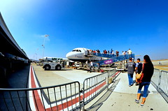 On The Road Again (jonricophotography) Tags: airplane traveling fisheye tokina