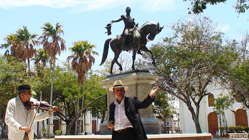 Ruta Cultural Udón Peréz: Plaza Bolívar - 3/3
