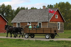 A trip to Bar U Ranch Alberta Canada I have been past here many times but this was my first visit and i will be back again for sure, what a little jem well worth a visit for sure. (davebloggs007) Tags: bar u ranch alberta canada visit day out parks food history horse drawn wagon