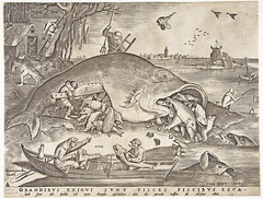 Big fish eat little fish [1556] (petrus.agricola) Tags: etching pieter van der heyden after drawing by bruegel elder