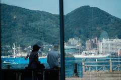 Summer's Snap 2016 : SEA Kanmon Channel (Colorful-wind) Tags: 2016 air city cityscape color colorful colors fujifilm harbor japan lightandshadow mojiko reflection shimonoseki