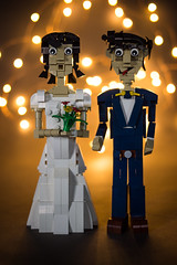 She said Yes ! (74louloute) Tags: lego moc wedding tabletop table decoration brickbuild