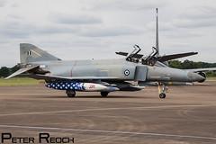 71755 / Hellenic Air Force / F-4E Phantom II (Peter Reoch Photography) Tags: royal international air tattoo 2016 raf fairford riat airshow aircraft aviation show display uk military combat hellenic force greek greece haf f4 phantom ii spook f4e rhino