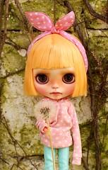 Petunia ( Ale plays with dolls Ale-K) Tags: blythe doll customblythe blythedoll toy kawaii children faceup custom