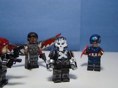 """""""There you are, you son of a bitch. I've been waiting for this!"""" (166 Customs) Tags: crossbones captainamerica falcon blackwidow marvel legocrossbones hydra captainamericacivilwar civilwar"""