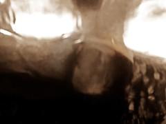 2016-08-22 portrait soluble (5)f (april-mo) Tags: soluble portrait experimentaltechnique experimental creative foil distortions reflection art woman womanportrait monochrome solubleportrait