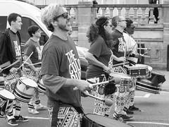 Batala London at Brighton Colour Run 2016 (dodgyhoodoo) Tags: brighton batalalondon allrightsreserved 2016andrewohara colourrun2016 drumming