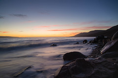 Soft light (Clare Kines Photography) Tags: arctic nunavut sunset north scenic canada victorbay arcticbay blurredmotion waves