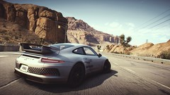 Neunelfer (polyneutron) Tags: car photography porsche 911 gt3 white supercar racer needforspeed nfs rivals pc videogame photomode depthoffield