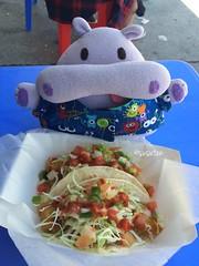 Fish & Shrimp Tacos (tiramisu_addict) Tags: shrimptacos fishtacos streetfood foodtruck rickysfishtacos onigiripetto riceballpets madebyme handmade plush toys susuten hippiehippo