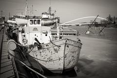 ELSA (Jori Samonen) Tags: elsa vrmd boat ship vessel pier water ice sea building crane mast tree bridge sompasaari helsinki finland nikon d3200 350 mm f18 nikond3200 350mmf18 bollard rock waterfront sunken