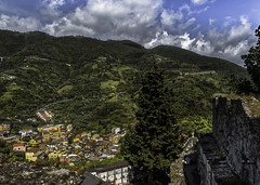 Reverent View (keith_shuley) Tags: cinqueterre monterosso colorful colors hills hillside italy olympusomdem1