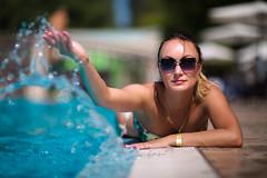 pool (ashcherbyna) Tags: swimm swimming spray splash glasses swimsuit summer pool water ocean sea hotel