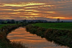 From the Archives (November 2013) (tsbl2000) Tags: nikond700 nikon2870 newenden sunset kent riverrother