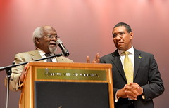 PM Hosts Town Hall Meeting at the Jamaica Performing Arts Centre, in Queens, New York