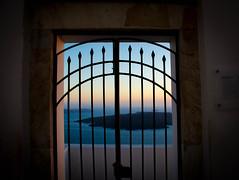 Endless blue resides here (Karmatoburn) Tags: santorini blue aegean greece caldera island sea sunset