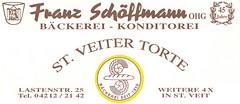 Bäckerei Schöffmann