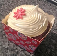 Red Velvet Cupcake in a Box