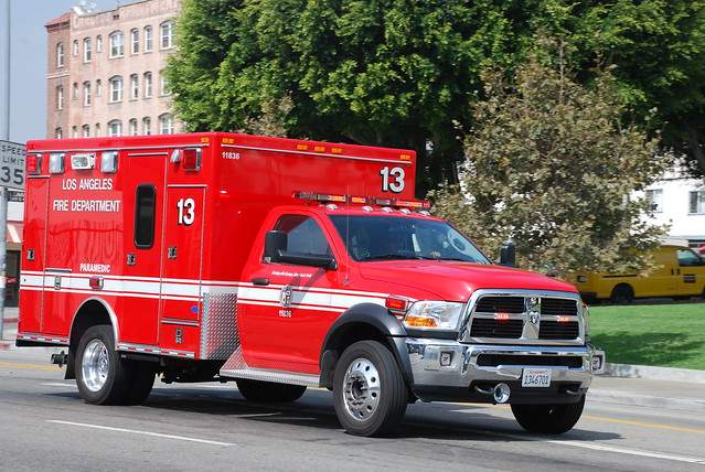 rescue truck la losangeles pickup lafd ambulance dodge ram paramedic ems emt 3500 losangelesfire