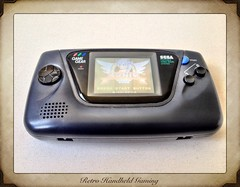 Retro Handheld Gaming (bopacasi) Tags: retro sega gamegear