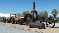 Steam Tractor (Death Valley) (K r y s) Tags: california unitedstates deathvalley ouestamericain
