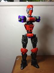 Big robot WIP (Alex Kelley) Tags: robot lego bricks bionicle mecha constraction toydesign herofactory