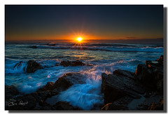 Our land is more valuable than your money. (Christolakis) Tags: seascape sunrise rocks wave australia nsw hastingspoint 1740f40l canon7d hitechfilters tweedshire 09ndreversegradfilter flickrsfinestimages1 flickrsfinestimages2 flickrsfinestimages3
