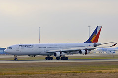Philippine Airlines RP-C3434 (V1 Aviation Photography) Tags: vancouver airport airbus yvr 340 philippineairlines a343 cyvr