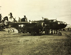 345th Bomb Group North American B-25 (San Diego Air & Space Museum Archives) Tags: 345thbombgroupmartinb26marauder 19391945 usaaf 4336016 aviation aircraft airplane militaryaviation bomber northamericanaviation northamerican naa northamericanb25mitchell northamericanb25 northamericanmitchell b25mitchell mitchellbomber b25 northamericanb25jmitchell northamericanb25j b25jmitchell b25j wrightaeronautical wright wrightr2600twincyclone wrighttwincyclone wrightr2600 r2600 twincyclone wrightr260092 r260092