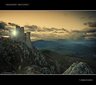 Rocca Calascio - Alba e castello
