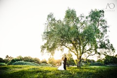 Doug & Jen (Austin O'Brien) Tags: wedding sunglasses creek golf photography oak jen doug course obrien irvine a