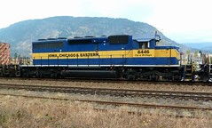 'City of McGregor'   ICE6446 (arrowlakelass) Tags: city railroad chicago canada ice train bc diesel railway iowa eastern railyard cpr freight boxcars switching mcgregor castlegar hotshot sd402 ice6446 cp6602 cp5968 cityofmcgregor p1280117
