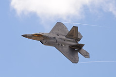 F-22 Raptor (Trent Bell) Tags: california demo fighter aircraft military jet airshow socal raptor f22 miramar 2012 mcas