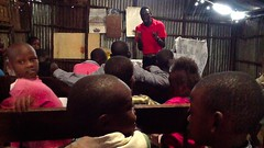 Sunday School in Kibera