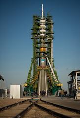 Expedition 33 Soyuz Rollout (NASA Johnson) Tags: kazakhstan soyuz baikonur baikonurcosmodrome soyuzlaunchpad soyuzrocket roscosmosrussianfederalspaceagency expedition33 soyuztma06m expedition33preflight