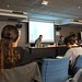 Eduardo Kac gives his presentation