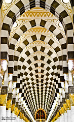 Al-Masjid al-Nabawi Mosque (MadVette) Tags: abstract art photo al 85mm mosque ii saudi arabia l usm  f12 madinah   abstractphoto  almasjid alnabawi munawwarah