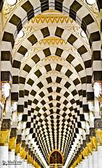 Al-Masjid al-Nabawi Mosque (MadVette) Tags: abstract art photo al 85mm mosque ii saudi arabia l usm  f12 madinah   abstractphoto  almasjid alnabawi munawwarah