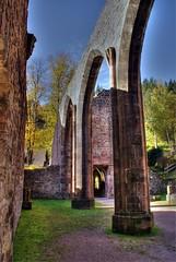 abbey ruin Allerheiligen (seanavigatorsson) Tags: travel autumn colors germany deutschland herbst waterfalls schwarzwald blackforest allerheiligen badenwrttemberg wasserflle klosterruine abbeyruin