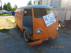 1956 Volkswagen T1 (Foden Alpha) Tags: orange bus vw volkswagen 1956 mapleridge t1 type2